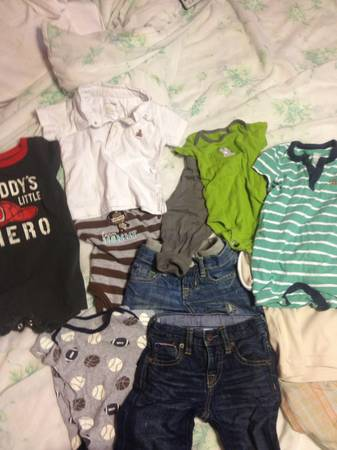 For sale baby gap jeans,shorts,  romper for baby boy - $35 (Pharr)