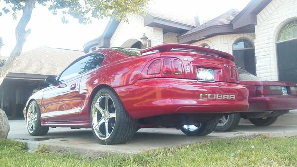 1996 SVT COBRA - $9000 (MISSION, TEXAS )
