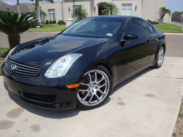 06 INFINITI G35 2dR COUPE FULLY LOADED NAVIGATION 19 WHEELS HID 350Z - $8950 (mission)