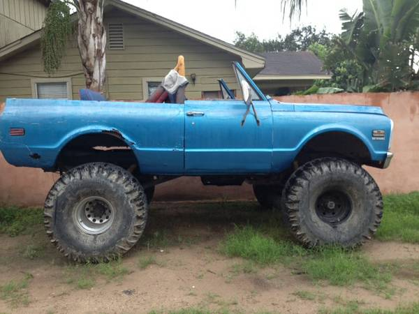 Chevy blazer lifted mud truck - $1300