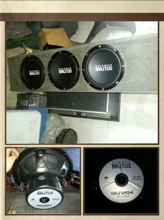 4 SALE Selling my sound system This is what I have available. (Mission)