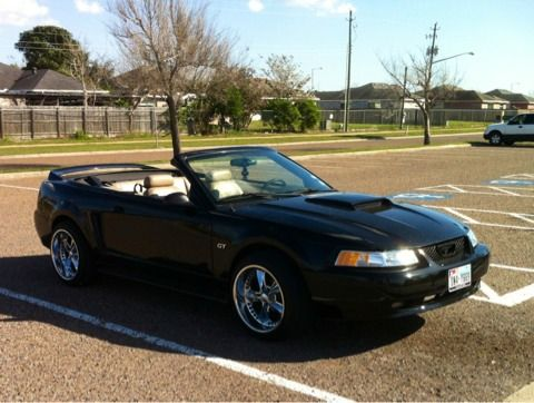 2000 Mustang Gt Convertible Spring Break Ready - $6000 (Harlingen )
