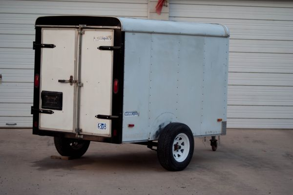 Pace America 5x8 enclosed trailer - $1600 (Weslaco)