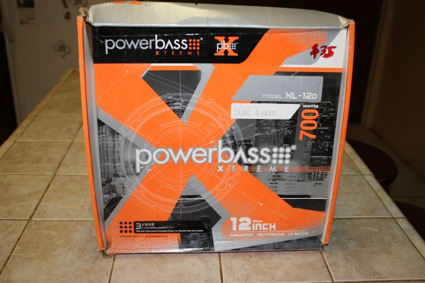 powerbass xtreme 12 Subwoofer 700 WATTS  - $40 (Wesalco)