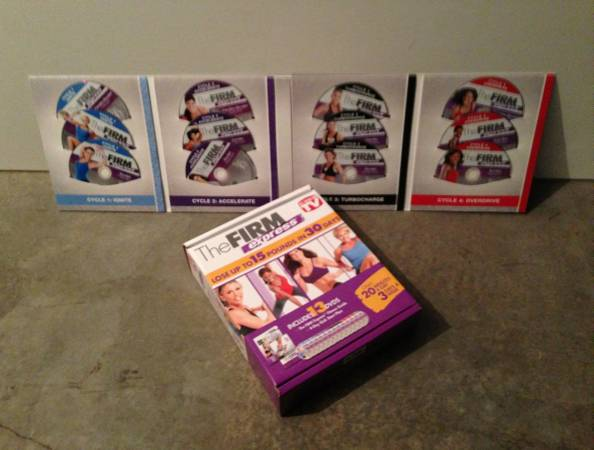 The Firm Express DVD Set  Lose Up to 15lbs in 30 Days -   x0024 40  McAllen