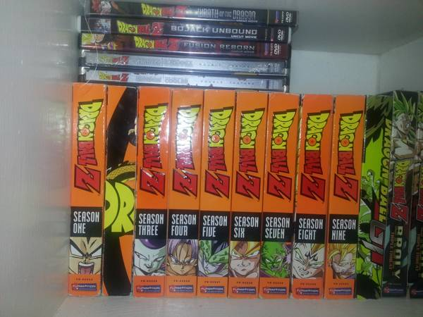 Complete DragonBall Z Set and movies - $150 (Edinburg)