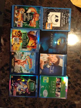 Disney blurays still 29.99 34.99 at store selling for 15 each look - $15