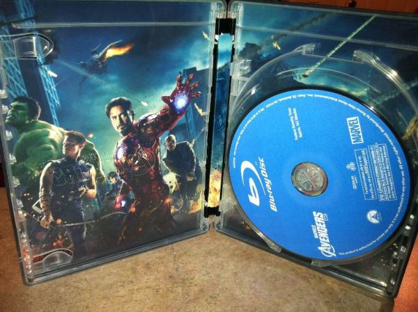 The Avengers bluray movie in steelbook - $30 (pharr south cage)