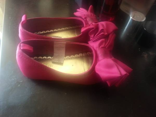 PRETTY SHOES BABY GIRL SIZE 6..GAP..GYMBOREE.. - $5 (PHARR)