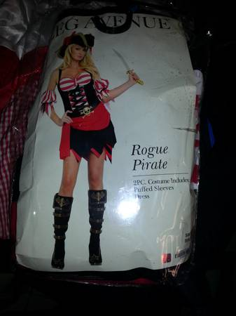 Halloween Costumes (Pirates,cop, red riding hood and HPotter)) - $10 (Edinburg)