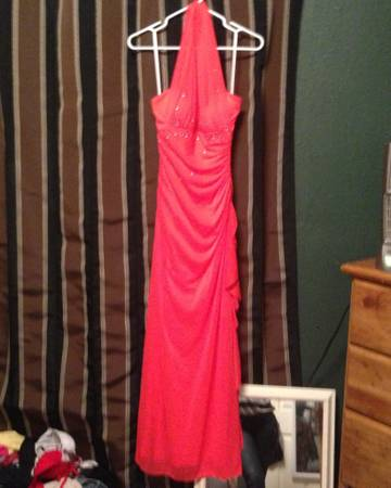 Beautiful long dress for special occasions - $80 (Mcallen )