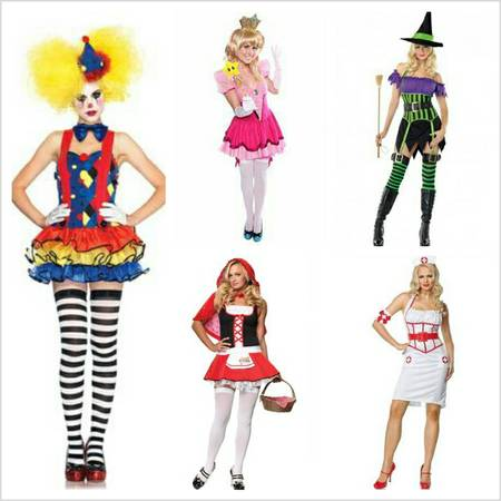 Sexy Halloween costumes and accessorieslow price - $30 (Pharr)