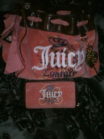 AUTHENTIC JUICY COUTURE, COACH, GUESS, KATHY VAN ZEELAND PURSES - $60