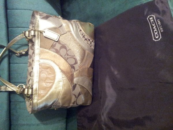 BOLSAS COACH originales - $80 (sharyland)