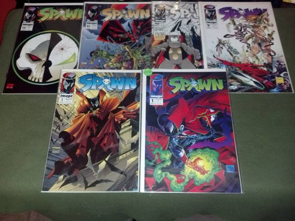 RARE TODD MCFARLANE S SPAWN COLLECTIBLE COMICS IN MINT CONDITION  RGV