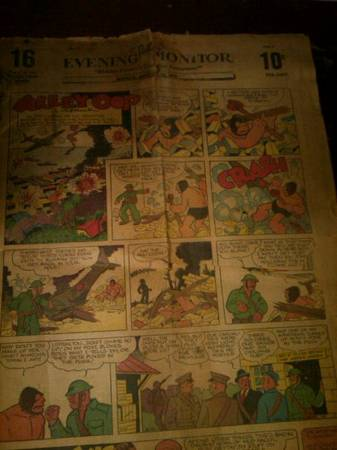 1942 VALLEY EVENING MONITOR -   x0024 50000