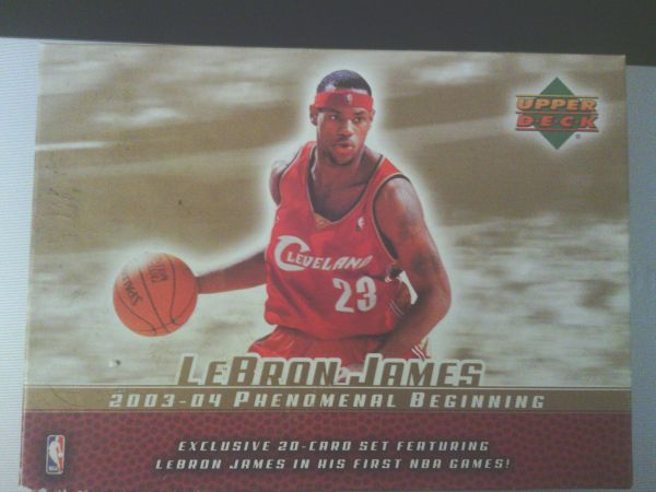 Lebron James 2003-04 Upper Deck complete set - $35 (Mission.)