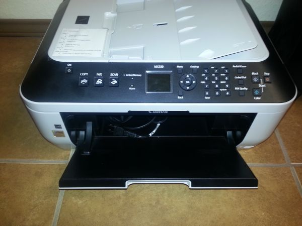 A Shredder for cds and paper, and a Printer, copier, fax all in one  - $25 (Edinburg)