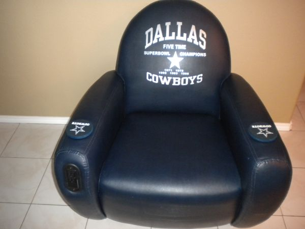 (COOL) DALLAS COWBOYS LIMITED EDITION CUSTOM RECLINER (WOW) (Penitas)