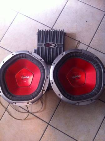 12 inch subs and Punch Xplode COMBO - $180 (Palmview)