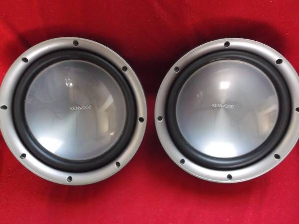 2 12 Kenwood Subs peak power 1200watts Sale or Trade - $170