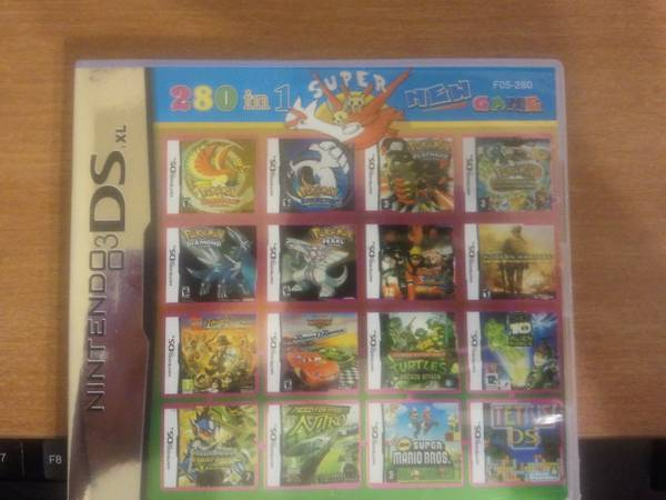 Nintendo DS DSi DSXL 3DS 335 games in 1 - $45 (PSJA-Mission-McAllen-Edinburg)