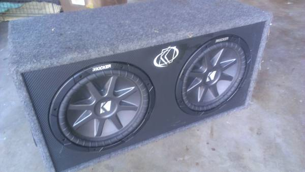 12 inch CVR Kicker AUDIO CAR SPEAKER - $349 (mcallen)