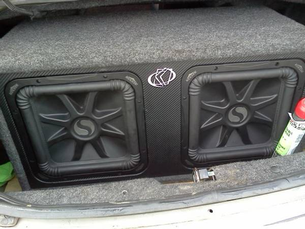 kickers L5 y Amplificador d2500 watt - $390 (mission)