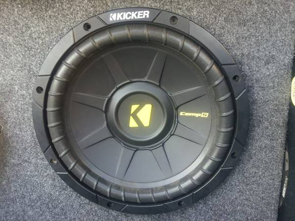 Kicker comp s 10 subwoofer powerbass - $160 (Mission,tx)
