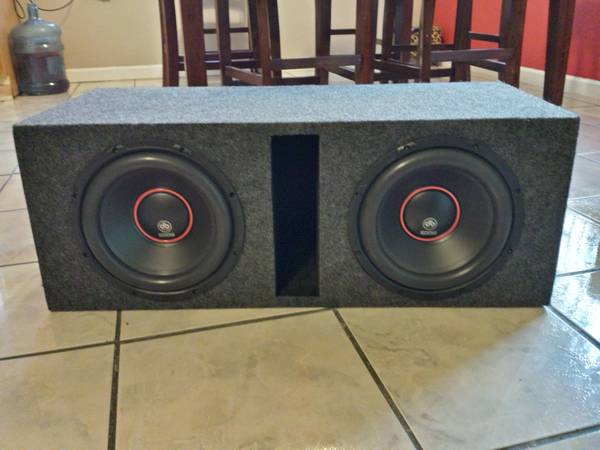 Two 8 DB Drive Subs (600W) with 1000W Amp - $325 (McAllen Harlingen Brownsville)