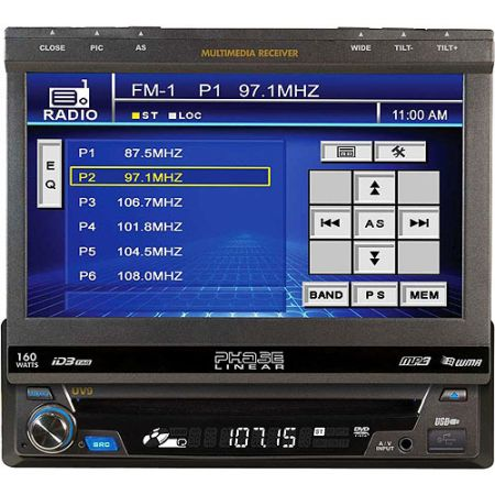 BRAND NEW 7 TOUCH SCREEN CAR STEREO JENSEN, USB, POPOUT SCREEN - $250 (MISSIONMCALLEN)
