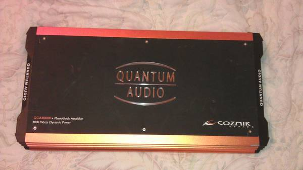 Quantum Audio Amp - $250 (MiSsion)