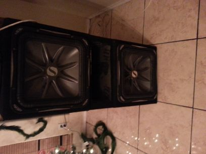 2 15 inch L7s with ported box REDUCED AGAIN - $440 (pharr)
