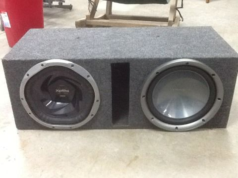 XPlod 1300w and Kenwood Sub Boom Box - $200 (Alamo)
