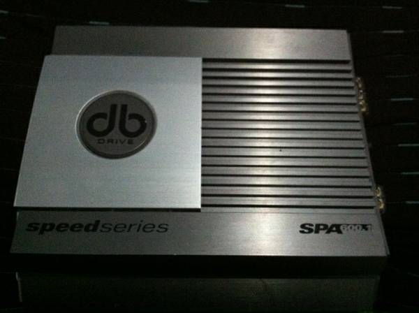 DB Drive Speed Series 600 Watt AMP - $130 (weslaco)