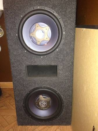 Selling 2 10 inch db drive drive speed series in really good condition - $350 (Alamo)