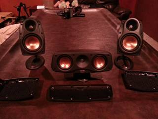 klipsch Surround Sound Speakers Make offer. - $1 (Weslaco)