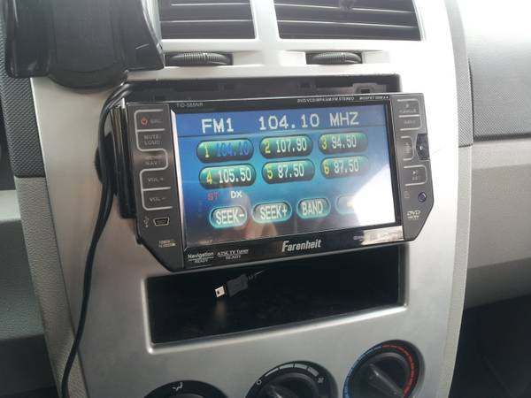 touch screen cddvd car stereo Farenheit TID-585NR - $150 (McAllen)