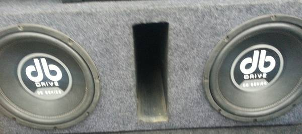 db drive subwoofers - $140 (Mission)