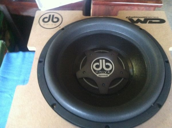 db drive platinum wd 12 - $400 (mission)