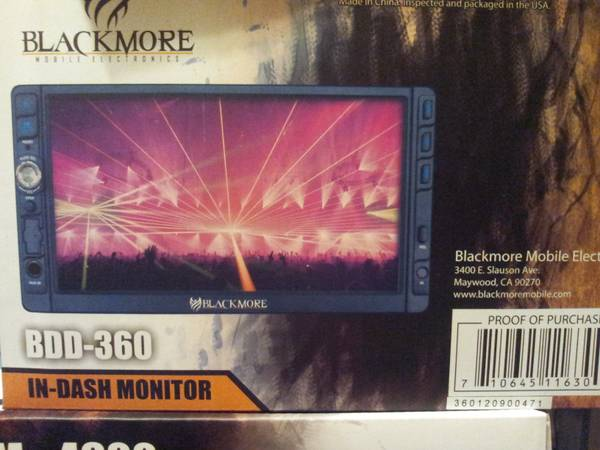 TOUCH SCREEN CAR STEREO DVD, CD, MP3, USB, SD CARD, DETACHABLE FACE - $250 (MissionMcallen)