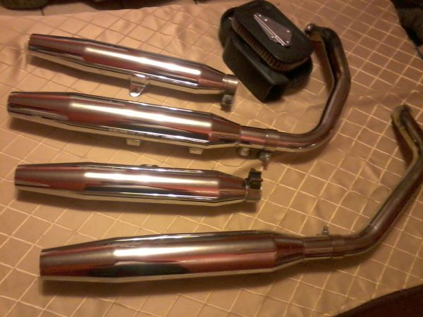 Harley Davidson Mufflers and other Accesories... - $140 (Mission)