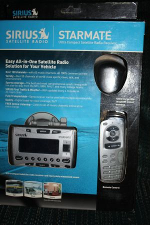 Sirius Starmate Portable Satellite Radio - $40 (Pharr)