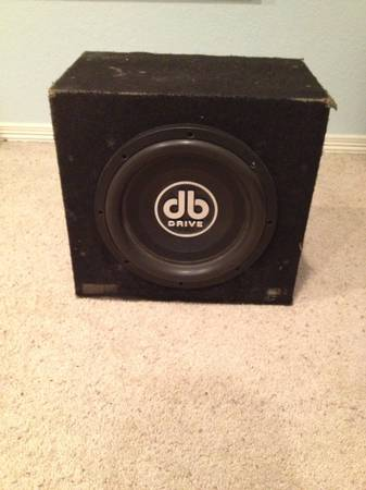 12 DB Drive Subwoofer - $40 (Progreso Lakes)