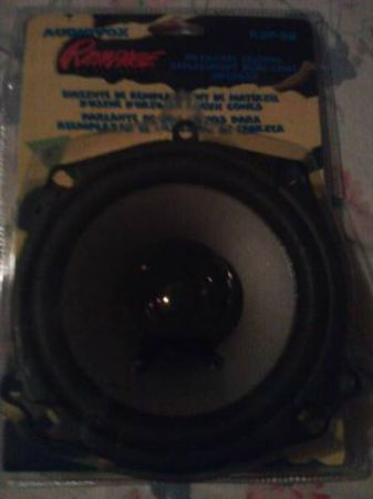 SELLING BRAND NEW AUDIOVOX RAMPAGE SPEAKER (WESLACOELSA)