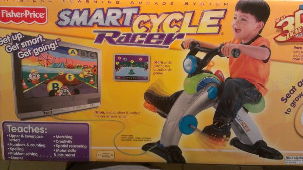 FISHER PRICE 3D SMART CYCLE RACER - $30 (EDINBURG)