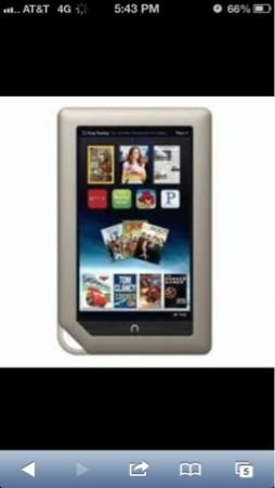Tablet nook barnes and nobles brand new - $139 (Edinburg tx)