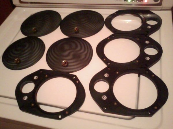 Memphis 5x7 Door adapters for 5.25 speakers...o.b.o. - $30 (Mission)