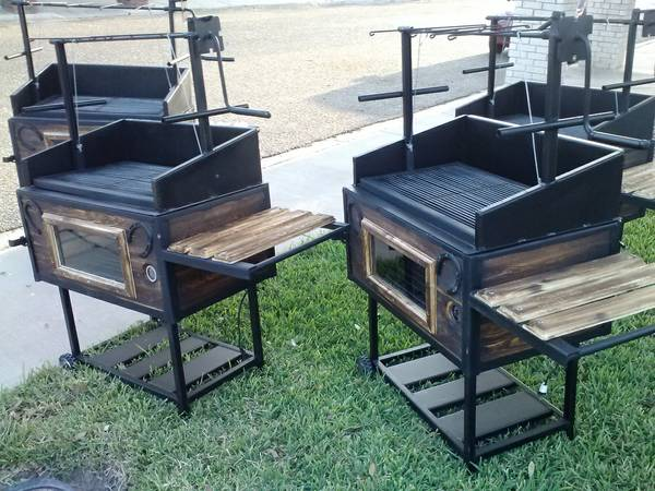 BBQ pits Ataud For cabritos - $390 (Edinburg)