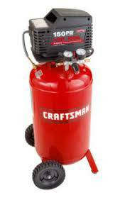 Craftsman 26 gallon vertical portable air compressor - $225 (Mcallen)